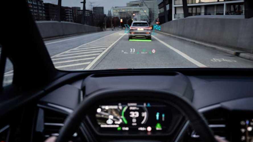 La realtà aumentata dell'Audi Q4 e-tron è incredibile: ecco come funziona