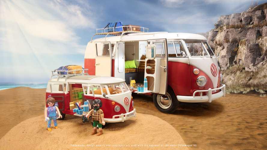 Volkswagen Bulli, ora anche Playmobil ha il suo