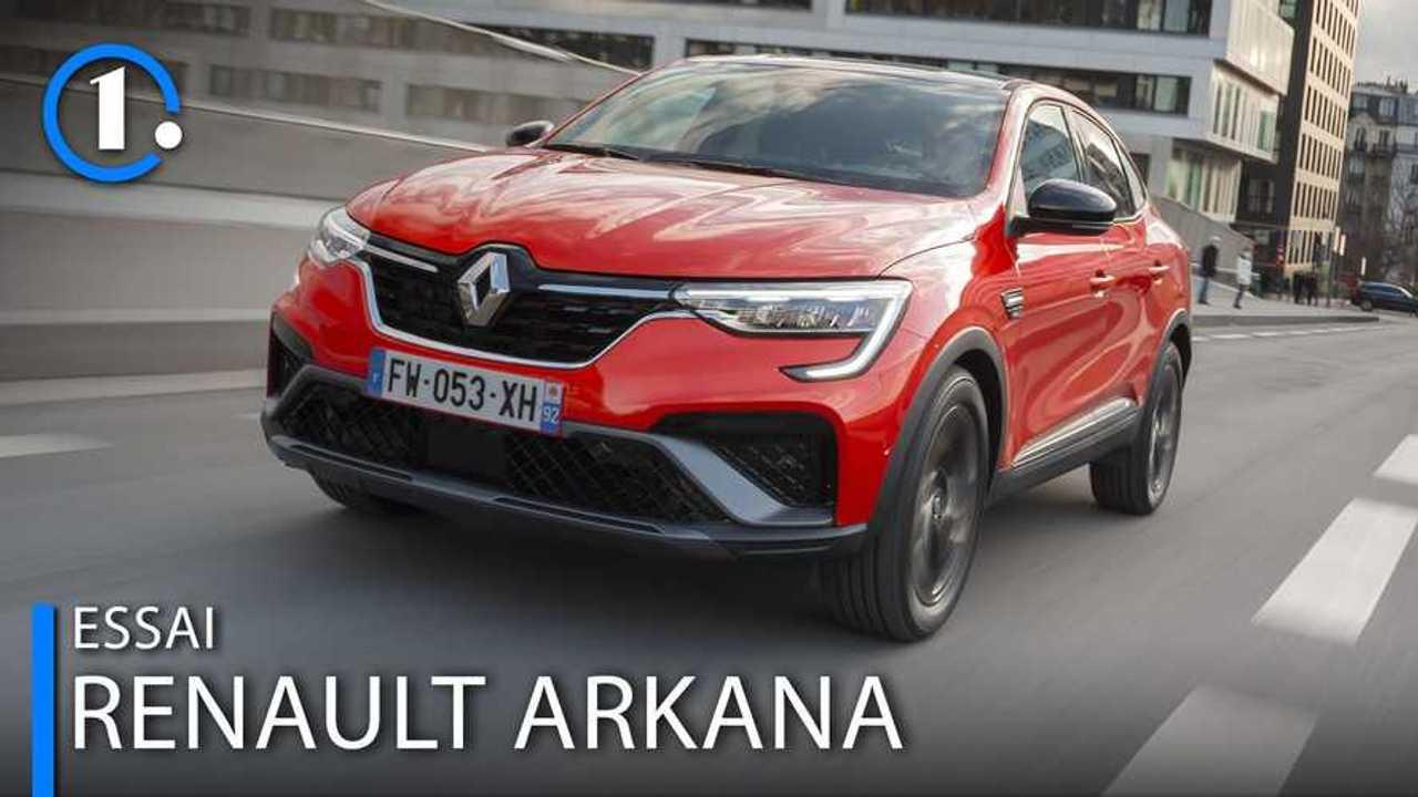 Essai Renault Arkana