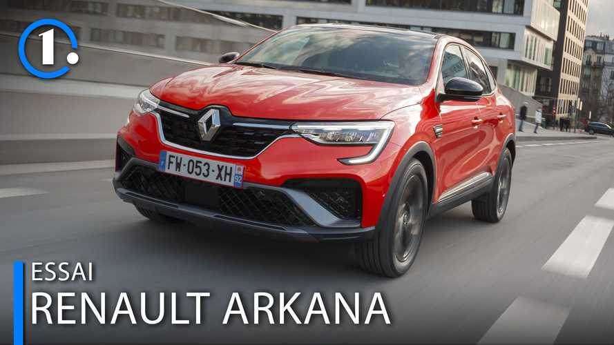 Essai Renault Arkana (2021) - Un pari gagné d'avance ?