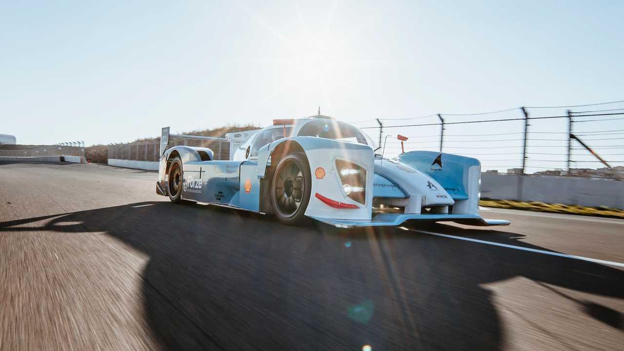 Hyundai hidrojenli yarış aracı