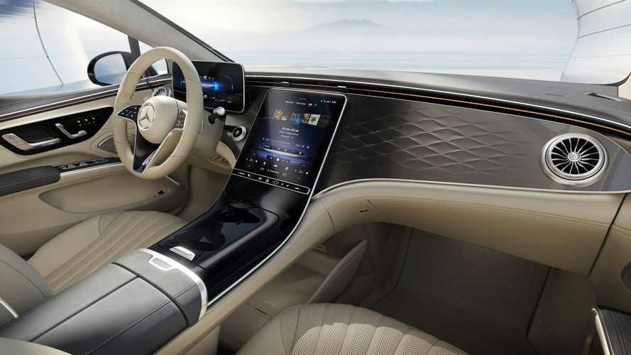 Mercedes-Benz показал EQS без «гиперэкрана» – он похож на S-класс
