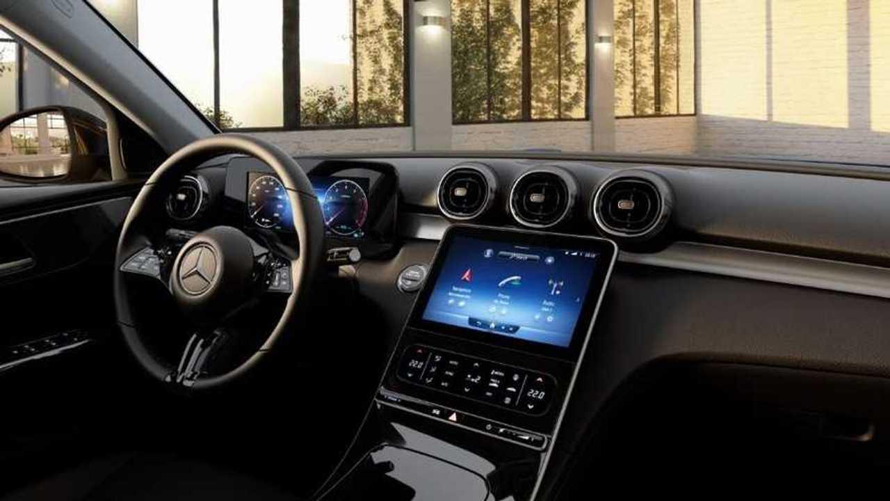 2022 Mercedes C-Class interior base model