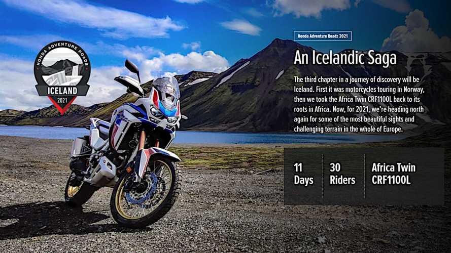 Honda Adventure Roads Iceland Tour Postponed Until 2022