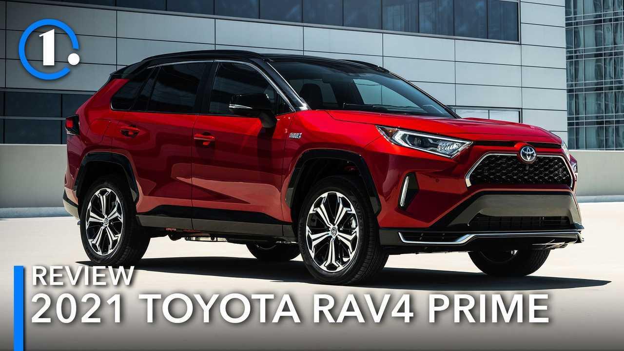 Inilah Toyota RAV4 Prime 2021.