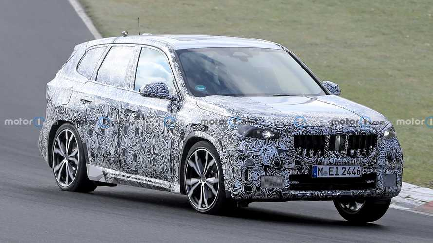 2022 BMW X1 stretches its legs at the Nurburgring in latest spy shots