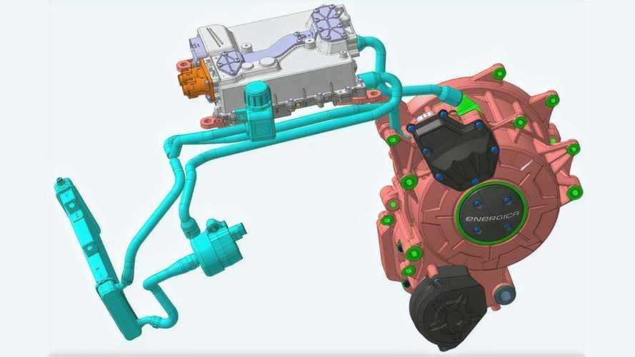 Energica EMCE Motor