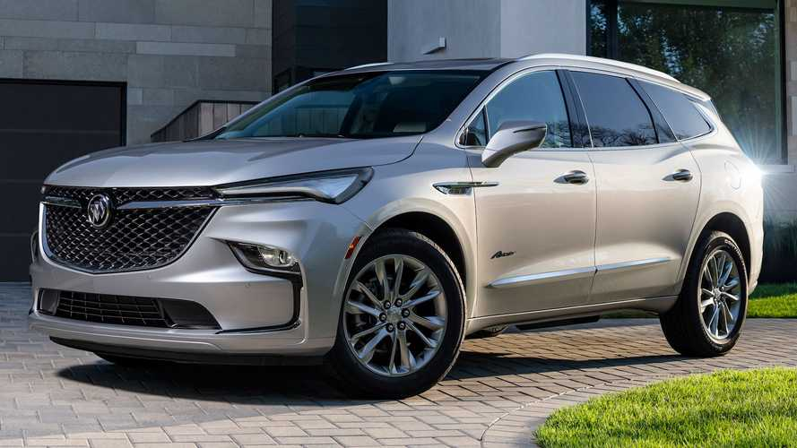 2022 Buick Enclave Debuts New Looks, More Standard Safety Kit