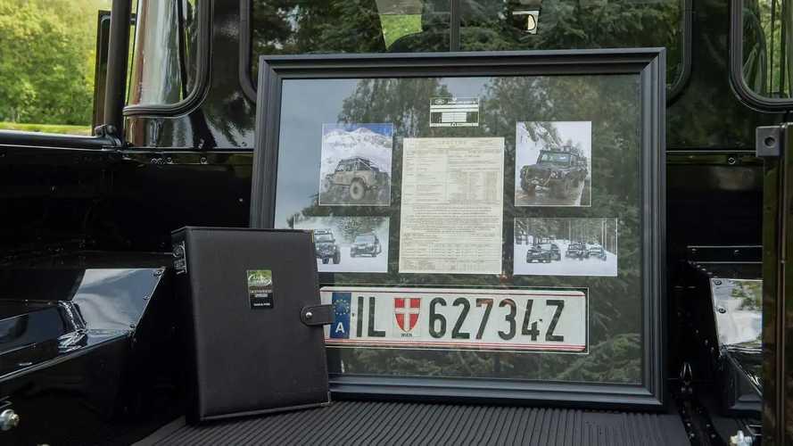 """Land Rover Defender 110, l'esemplare usato in """"007 Spectre"""""""