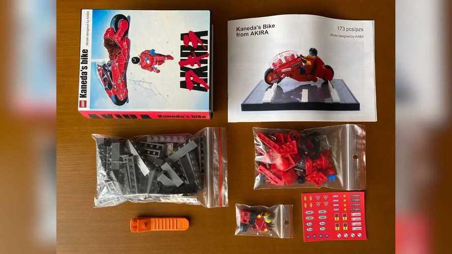 Kaba's LEGO Kaneda's Bike MOC Kit