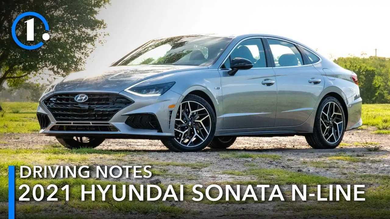 2021 Hyundai Sonata N-Line Driving Notes