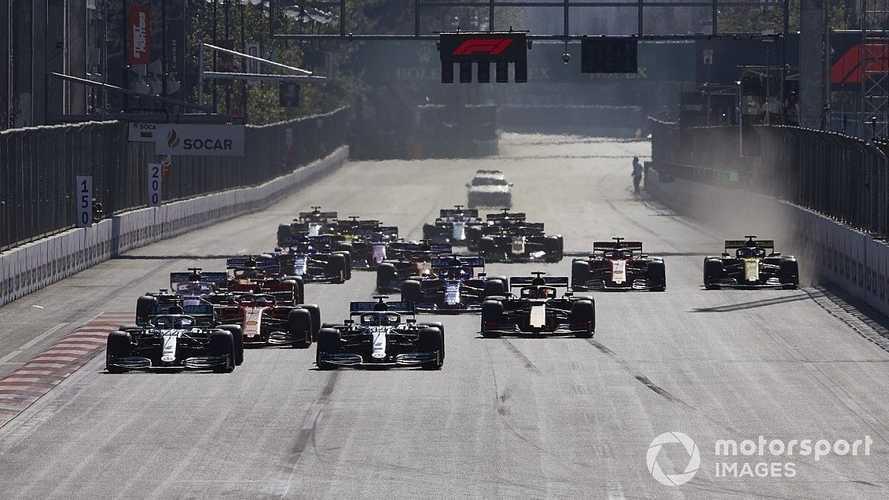 Los horarios (diferentes) del GP de Azerbaiyán de F1 en Bakú