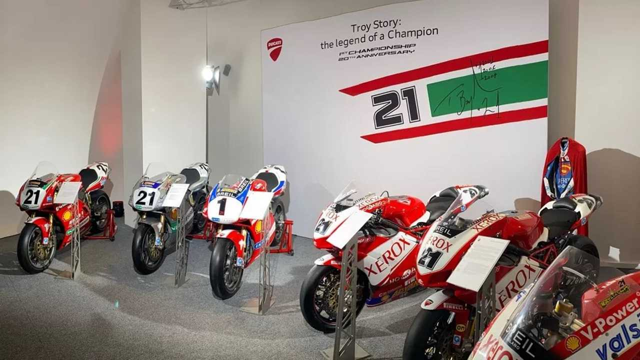 Troy Bayliss Ducati Exhibit