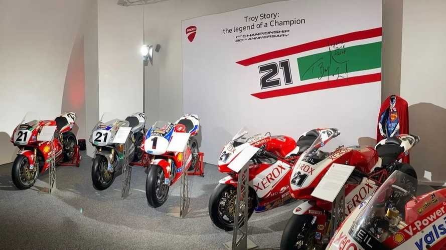 Troy Bayliss Superbike Exhibit Opens At The Ducati Museum