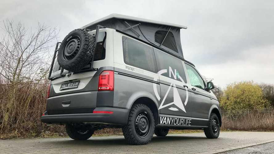 Descubre esta furgoneta camper basada en la Volkswagen T6