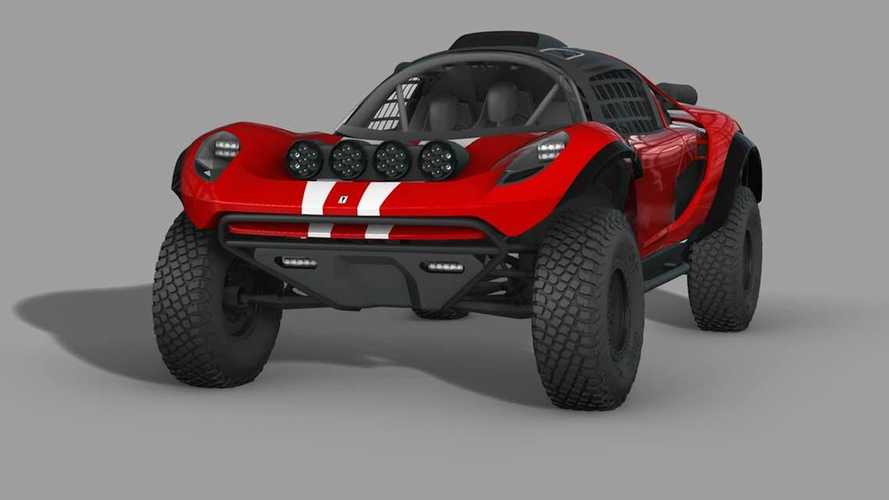 Glickenhaus 008 Baja Dakar Buggy Gets Updated In Official Renderings