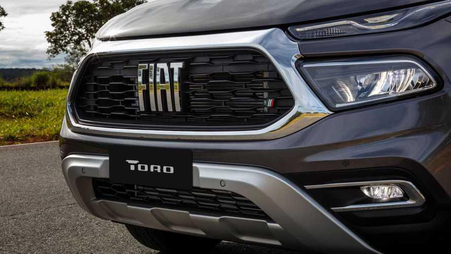 Fiat Toro Volcano recebe grade de Ranch ou Ultra como opcional