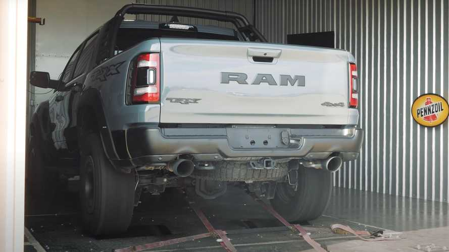 2021 Ram TRX Hits The Dyno Before Hennessey Puts It Under The Knife