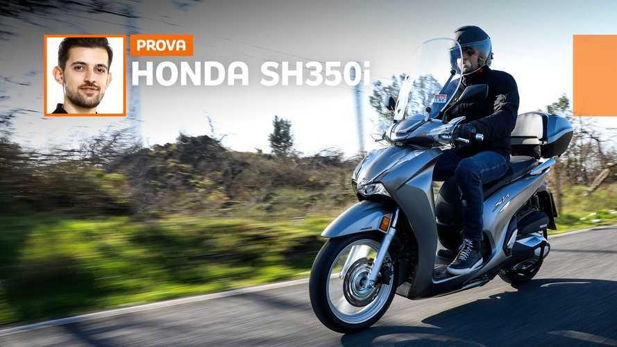 Honda SH350i 2021 - TEST