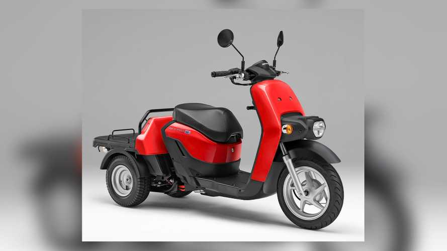 Honda Launches 2021 Gyro E Cargo Trike With Swappable Batteries