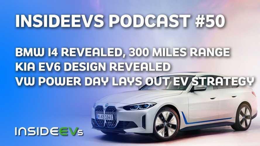 BMW i4 Debuts, Kia EV6 Design Revealed, Power Day Lays Out VW's EV Plans