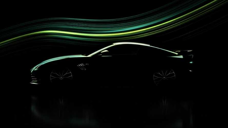 Aston Martin Vantage teased in hotter specification, debuts 22 March