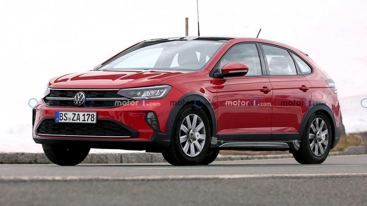Volkswagen Taigo - Novos flagras