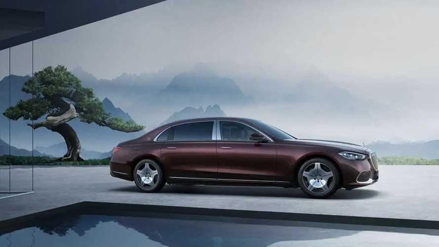 Mercedes-Maybach S 480 для Китая