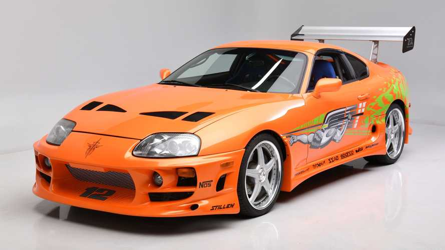 Famous Toyota Supra From 'Fast & Furious' Sells For $550,000 [UPDATE]