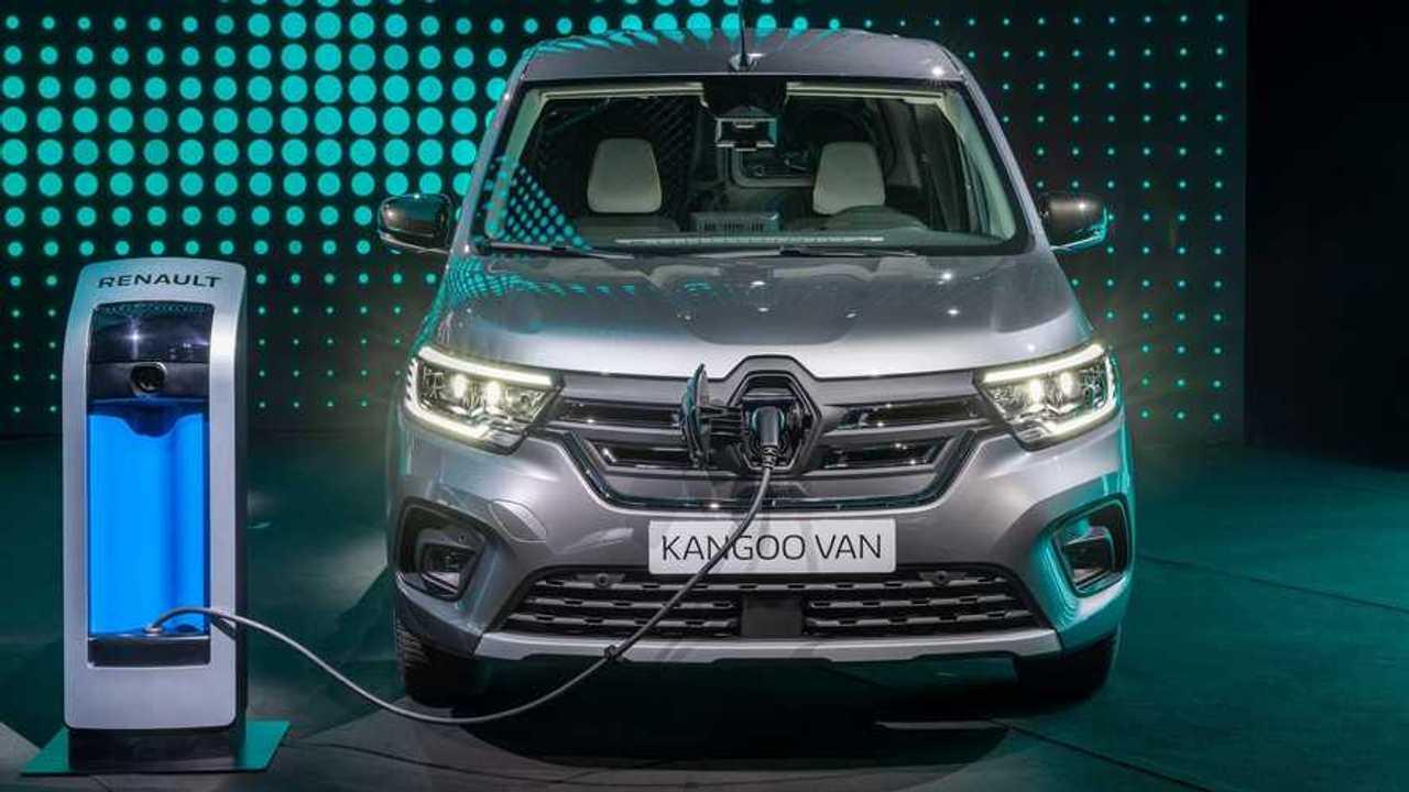 Renault Kangoo Van E-TECH Electric - carregamento