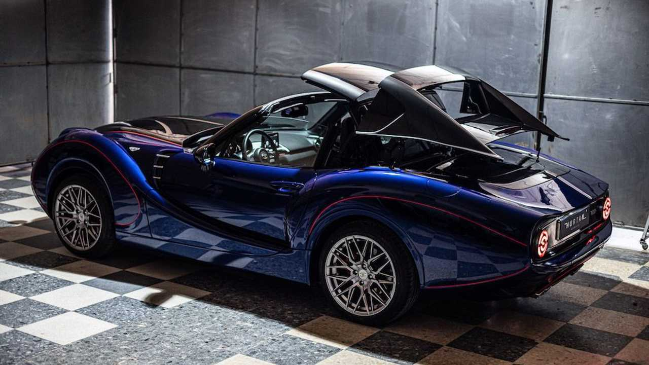 Hurtan sports car based on Mazda MX-5 Miata RF