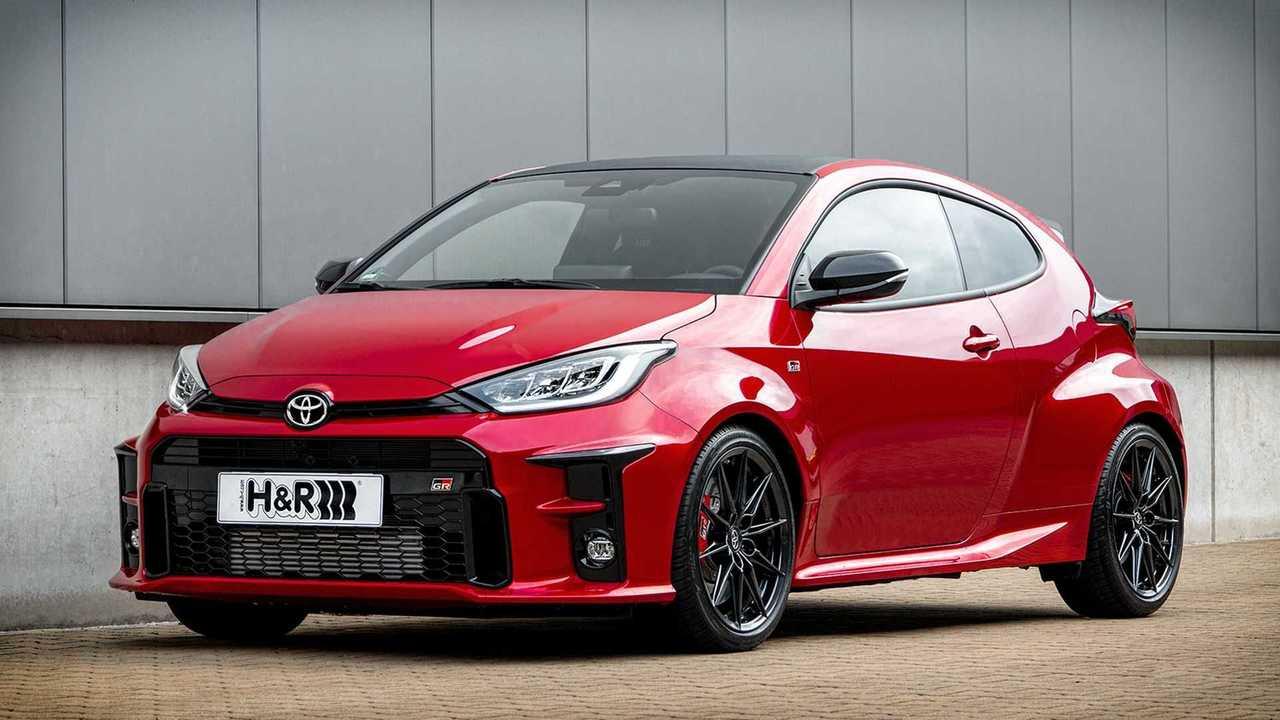 Neue H&R Sportfedern für den Toyota GR Yaris