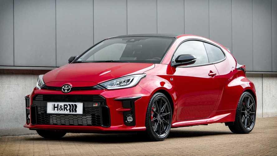 Sistem Suspensi H&R untuk Toyota Yaris GR, Bikin Handling Makin Oke