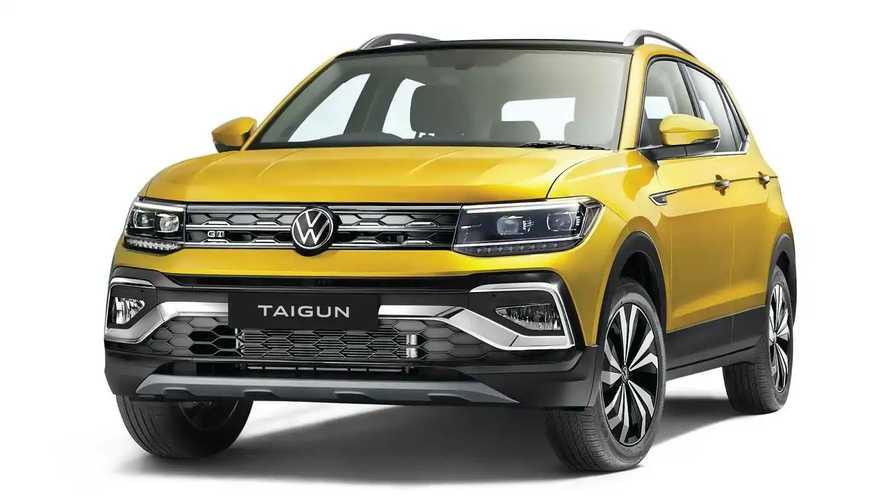 Volkswagen Taigun é T-Cross com design mais robusto para a Índia