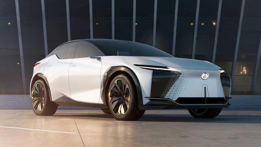 Lexus LF-Z Electrified concept, trazione elettrica e integrale