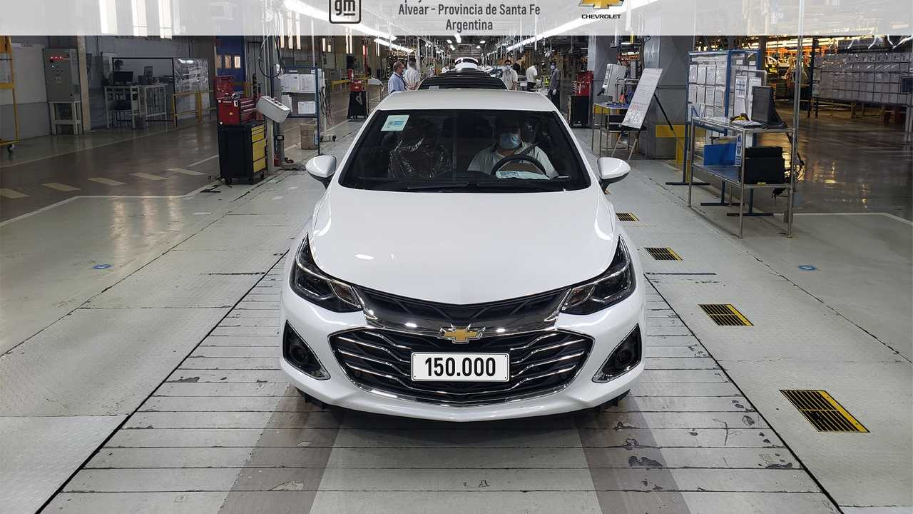 Chevrolet Cruze - 150.000 unidades na Argentina