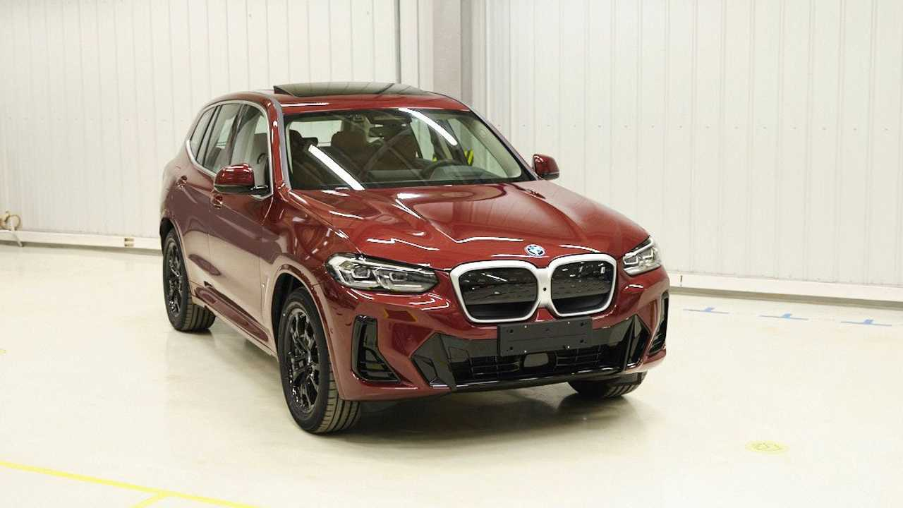 2022 BMW iX3 facelift homologated in China
