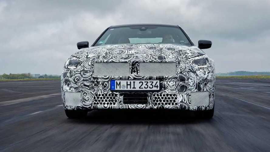 Novo BMW Série 2 Coupé 2022 - Camuflado