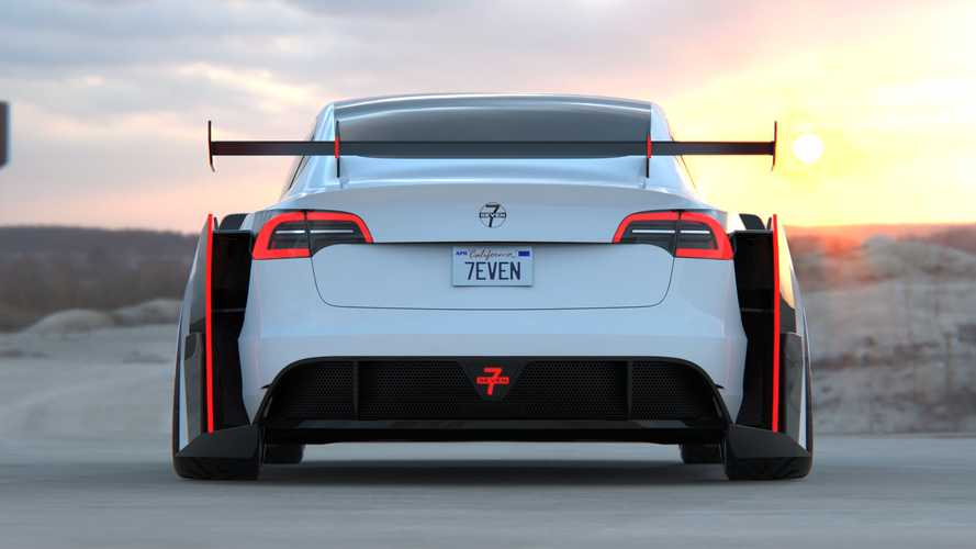 Tesla Model 3 par 7evenkill - La plus sauvage d'entre toutes