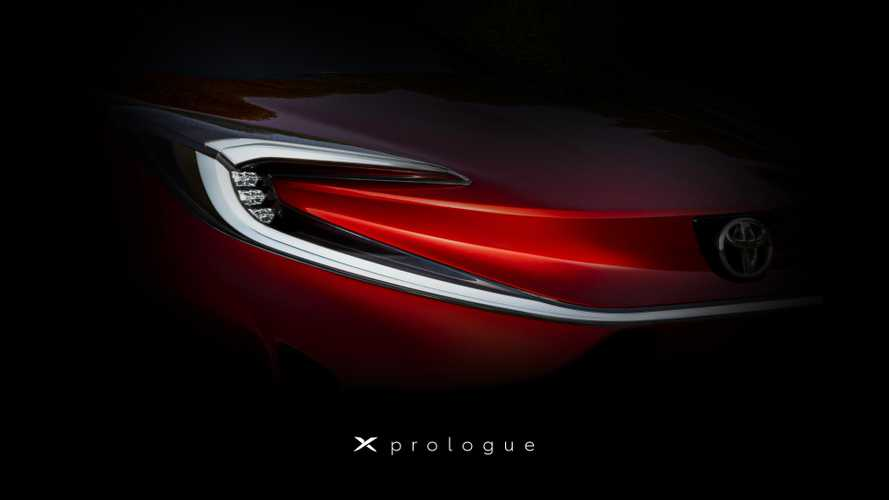Toyota X Prologue teased showing glimpse of forthcoming EV