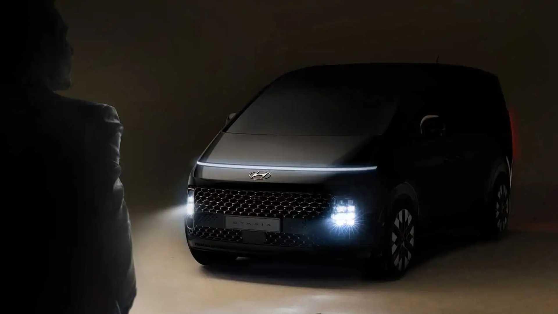 2021 Hyundai Staria teaser