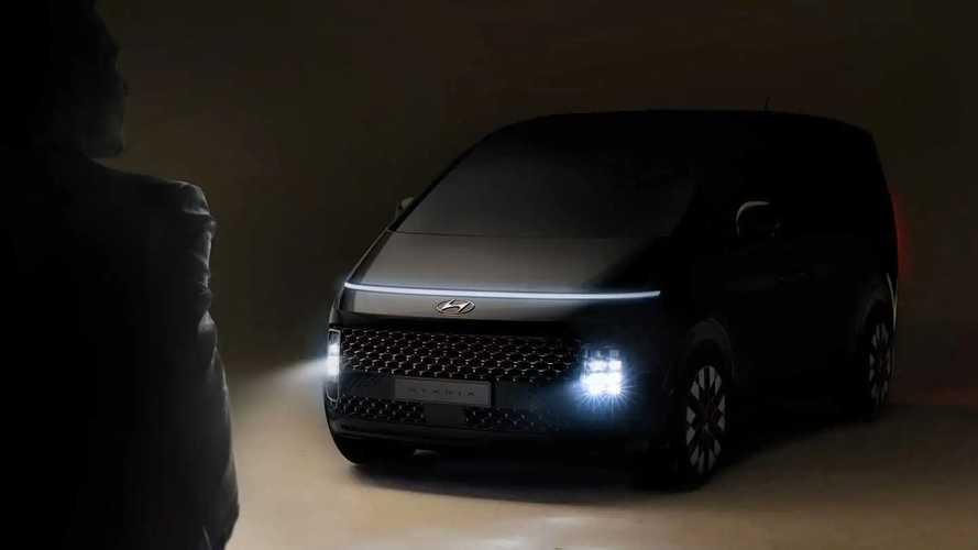 Тизеры Hyundai Staria