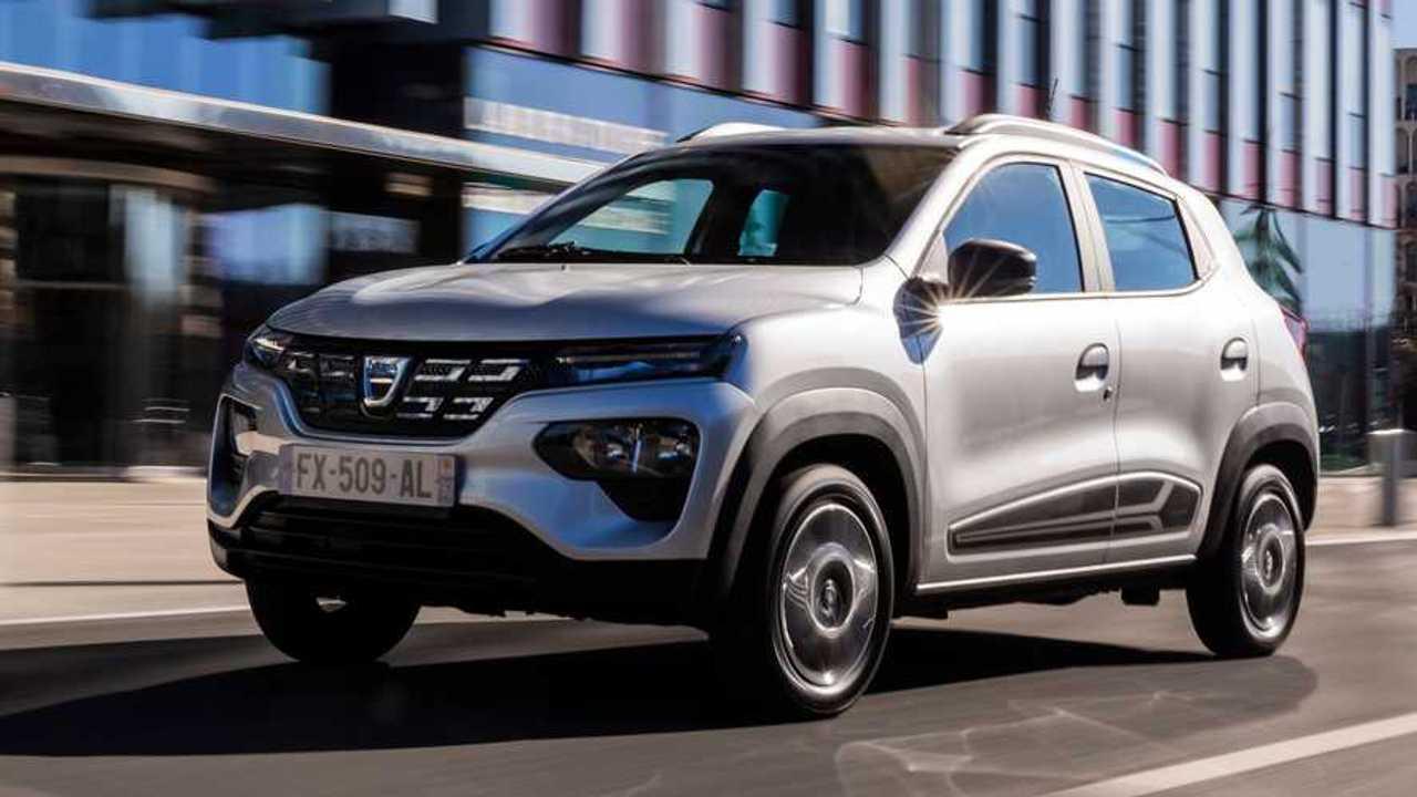 Dacia stellt die Serienversion des Spring Electric vor