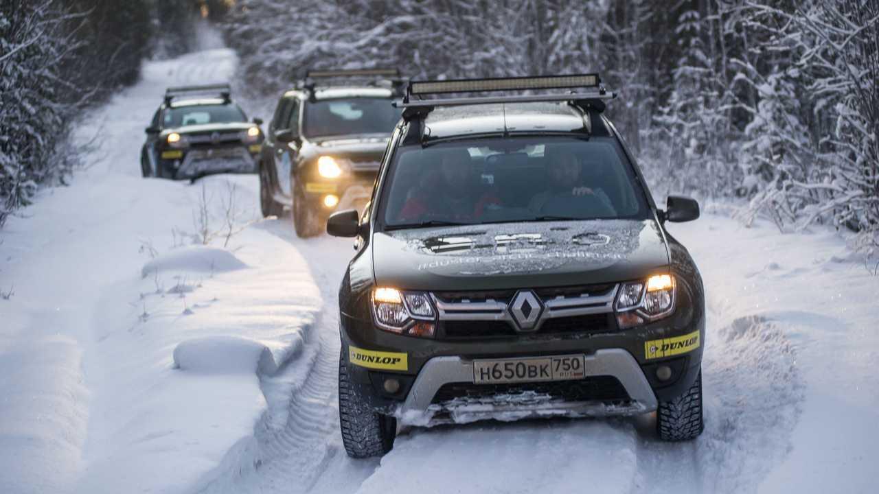 Renault Duster первого поколения: арктическая экспедиция