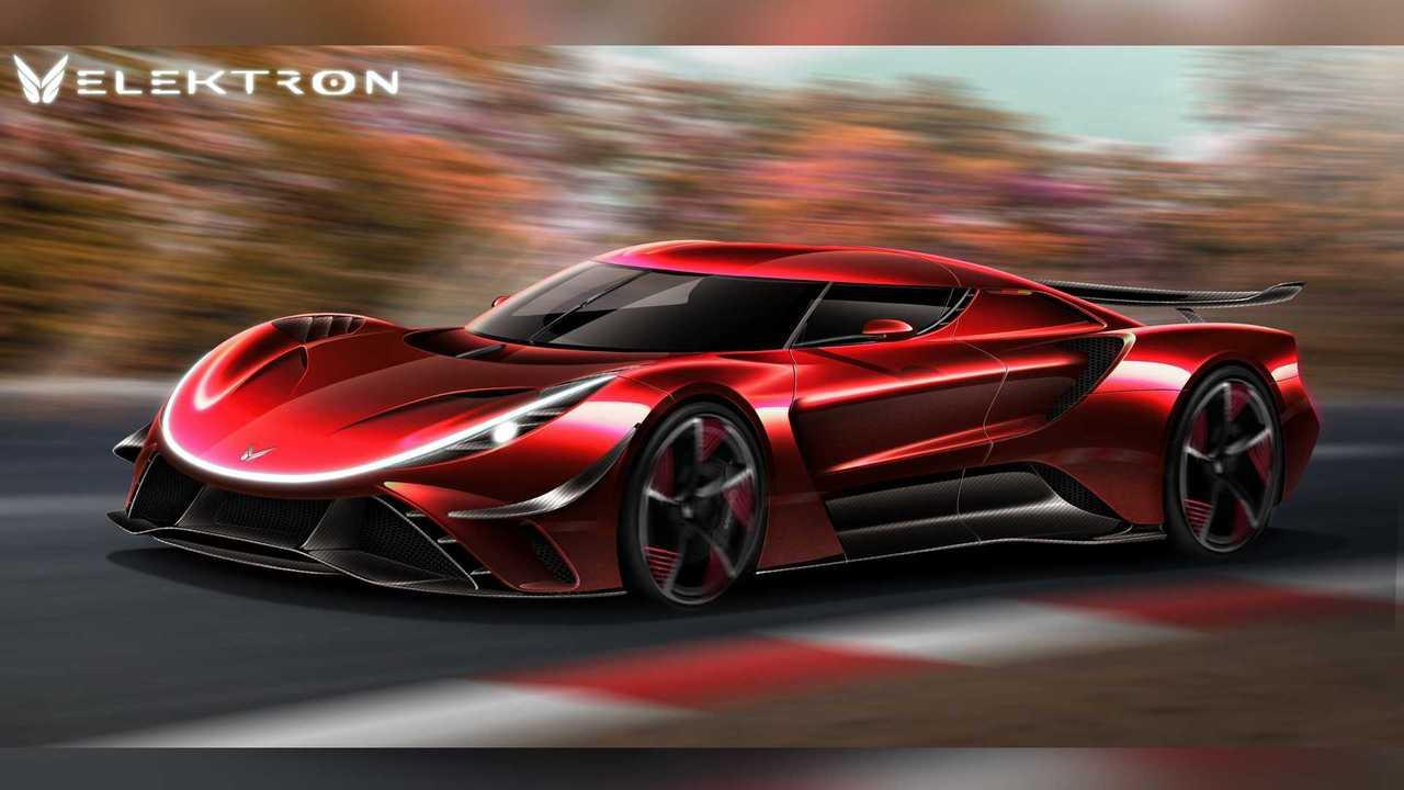 Der Elektro-Supersportler Elektron Quasar soll das leistungsstärkste Serienauto der Welt werden