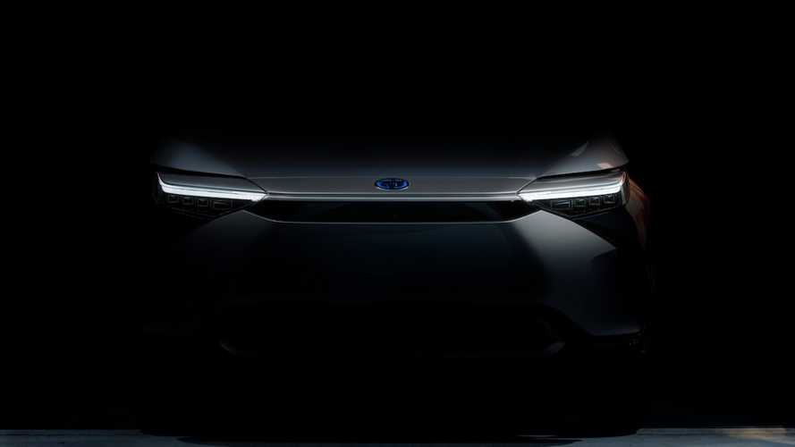 Toyota electric SUV shows its face ahead of 19 April debut