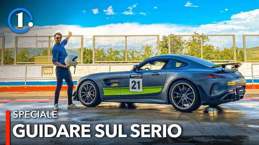 Ecco com'è un corso di guida sportiva Mercedes AMG