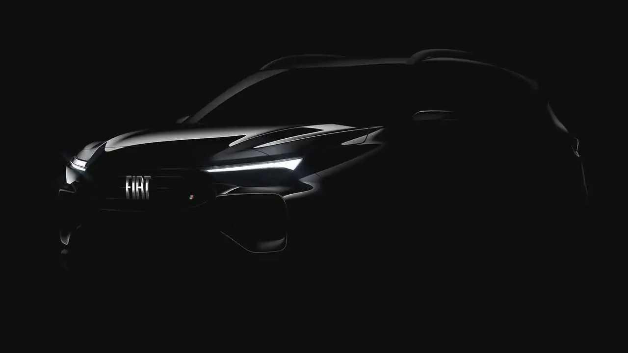Progetto 363 - Visão frontal do novo SUV da Fiat