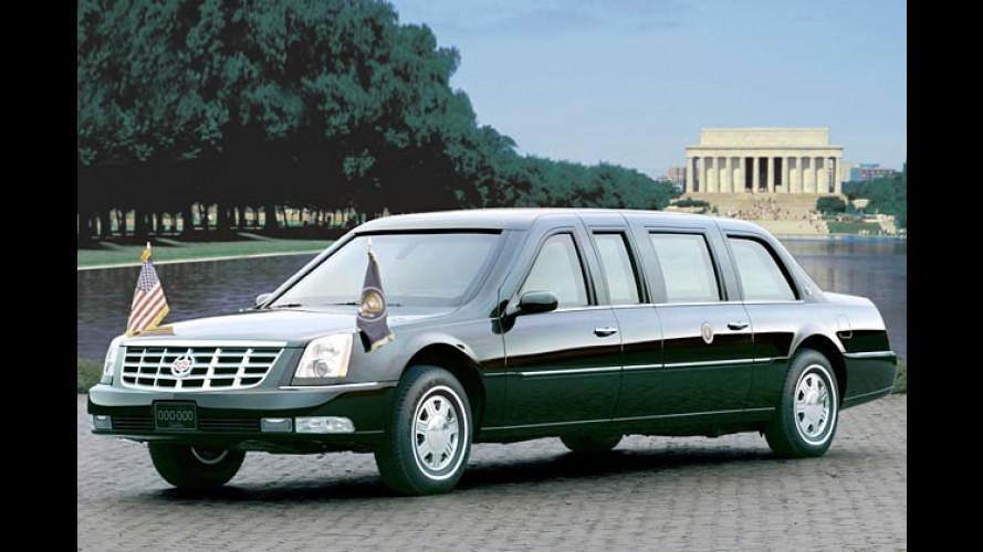 Neue Staatskarosse vom Bush-Tuner Cadillac