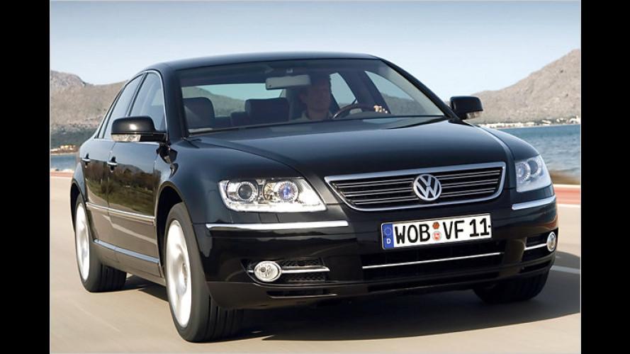 Volkswagen startet Vorverkauf des facegelifteten Phaeton